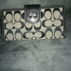 Coach Jacquard wallet